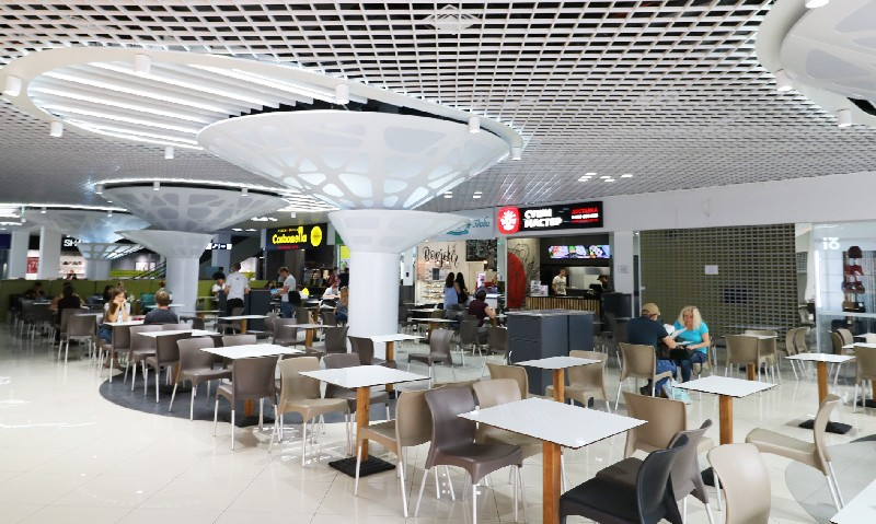 "Foodcourt in ""Gorodok"" mall"